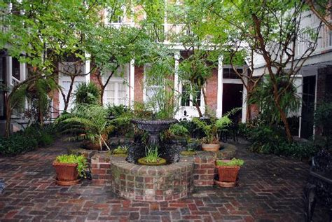 Courtyard House Plans Place D Armes Pool Clean But Some Tree Debris Sometimes