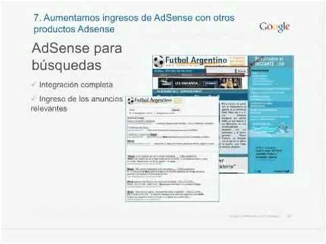 adsense español webinar c 243 mo aumentar los ingresos de adsense conjunto
