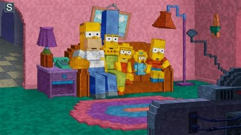 best couch gags minecraft couch gag simpsons wiki fandom powered by wikia