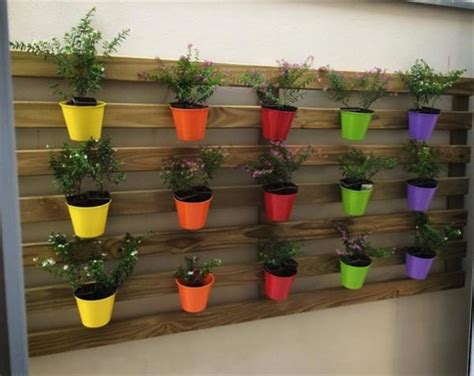 Wall Planter Ideas shipping pallet wall planter box ideas pallets designs