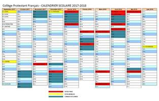 Calendrier Scolaire 2018 Maroc Calendrier Scolaire Annuel Coll 232 Ge Protestant Fran 231 Ais