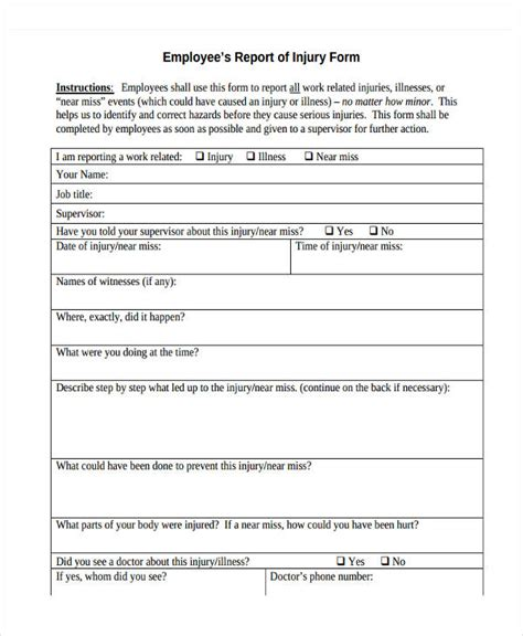 serious incident report template 27 incident report template in pdf free premium templates