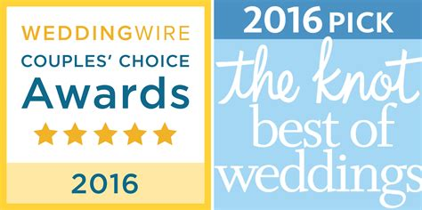 The Knot Wedding Wire by Winner Winner 2016 Wedding Wire The Knot Awards Ece