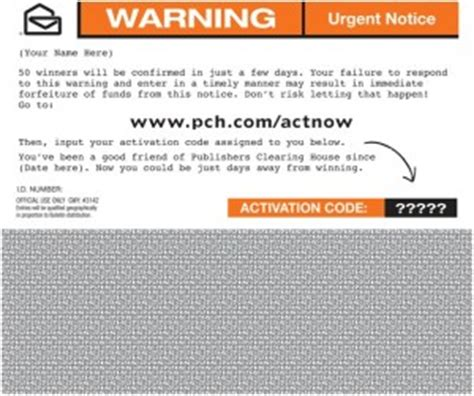 Www Pch Com Urgent Special Registration Page - pch com actnow activation code autos post