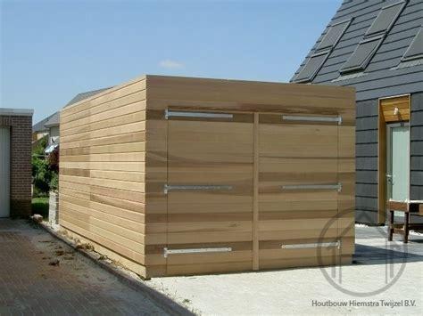 tuinhuis friesland tuinhuis met plat dak houtbouw hiemstra twijzel