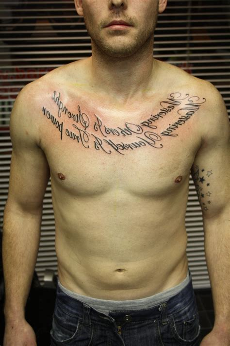 chest tattoo designs writing collection of 25 upperchest tattoos