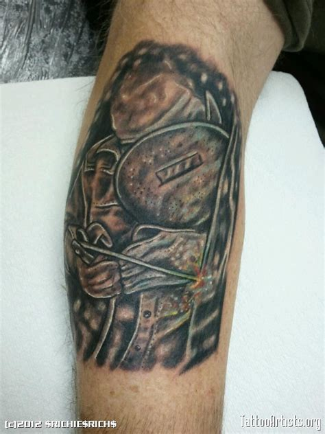 welding tattoos designs the gallery for gt welder tattoos
