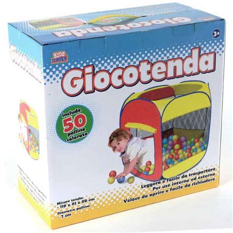 tenda gioco con palline tenda cubo da gioco casetta per bambini con 50 palline