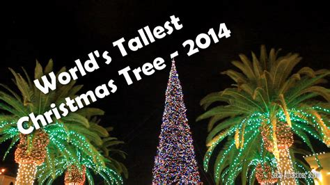 tallest xmas teee in tge workf hd tallest tree in the world 2014 citadel outlets los angeles