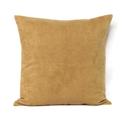 18x18 throw pillow cover brown camel home decor
