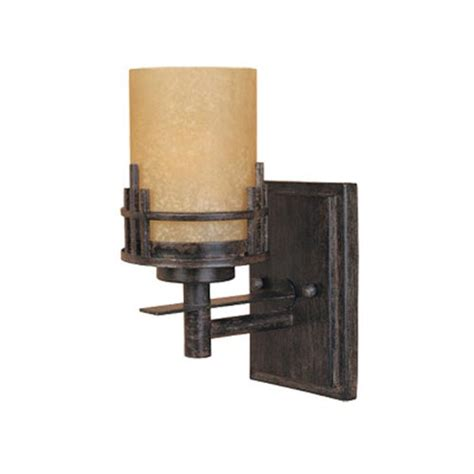 ballroom wall sconce mission style bellacor