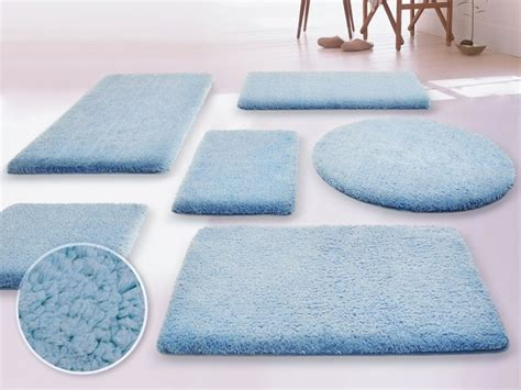 Light Blue Bathroom Rugs Light Blue Bathroom Rugs Castle Hill Napoli 100 Cotton Reversible Bath Rug 20x30 Light Blue