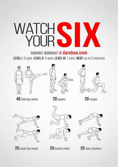 your six workout