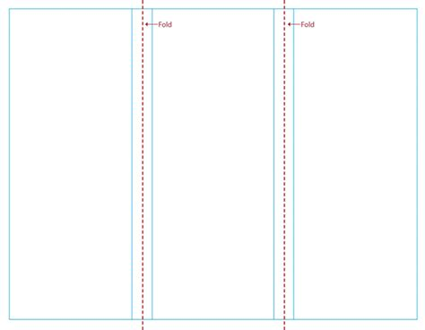 blank brochure template for word free blank tri fold brochure templates clipart best