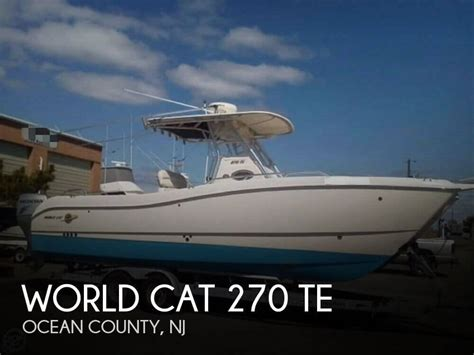 world cat boats used used world cat boats for sale boats