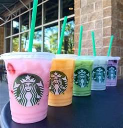 colorful starbucks drinks starbucks blue drink starbucks secret menu