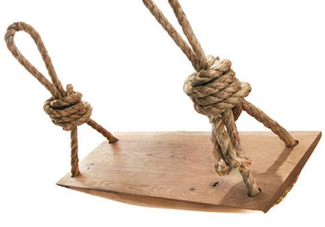 wooden rope swing carved oak rope swing design sponge