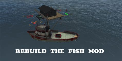 Ls With Fish by Fish Boat New V 1 2 Fs2017 Farming Simulator 2017 Mod