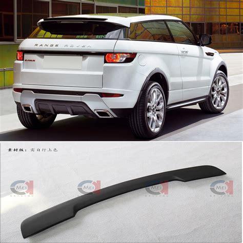 range rover evoque rear rear accessory lip spoiler for range rover evoque rear