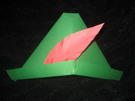 How To Make Pan Hat Out Of Paper - paper robin hat uk around the world activities