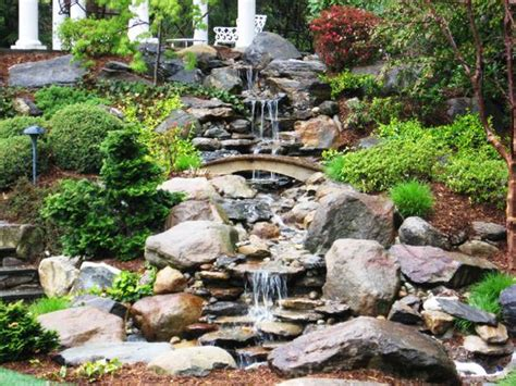 waterfall designs for backyards 20 spectacular backyard ideas waterfalls that top off backyard landscaping