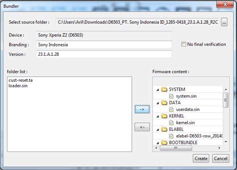 membuat file ftf dari zip cara membuat file ftf dari xperifirm how create ftf