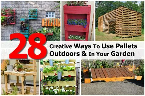 wood pallet wonders diy projects for home garden holidays and more books 28 creative ways to use pallets outdoors in your garden