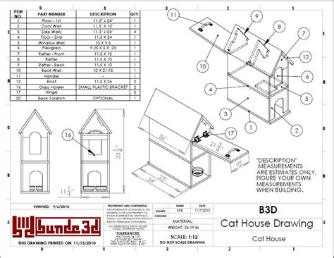 build a house plan cat house plans diy how to woodwork pdf