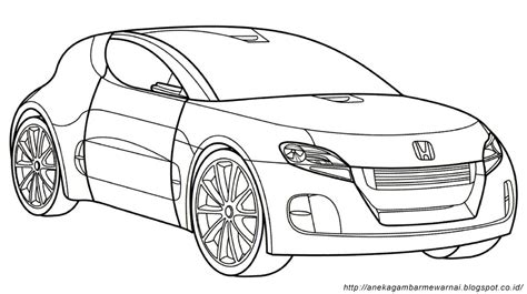 Mewarnai Mobil lowrider car coloring pages sketch coloring page