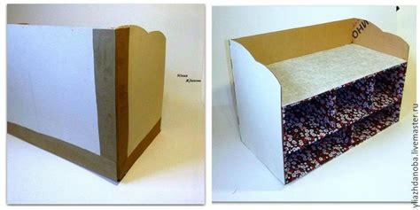 What Is A Flax Dresser by How To Make A Cardboard Room Dresser With Drawers