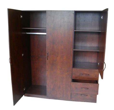 Armoire With Drawers And Hanging Armoire