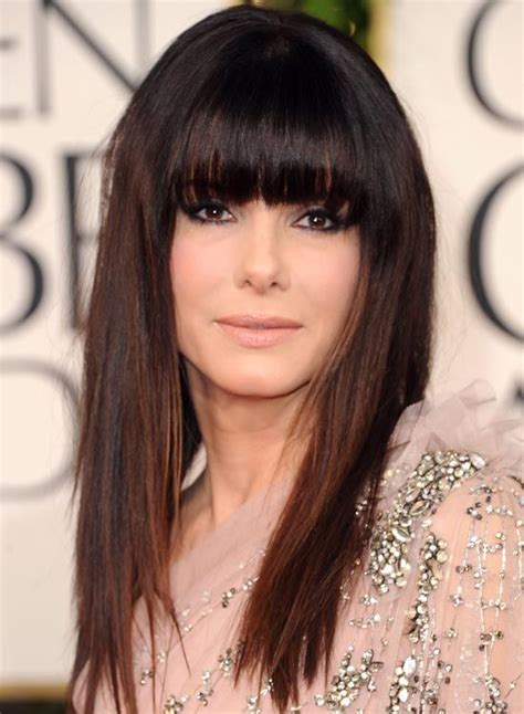 full bangs to hide lines 50 celebrity hairstyles for women over 50 hair