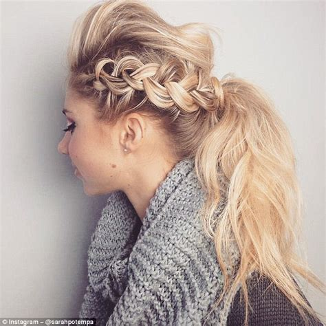 hairstyles from instagram hairdresser sarah potempa posts different style idea every