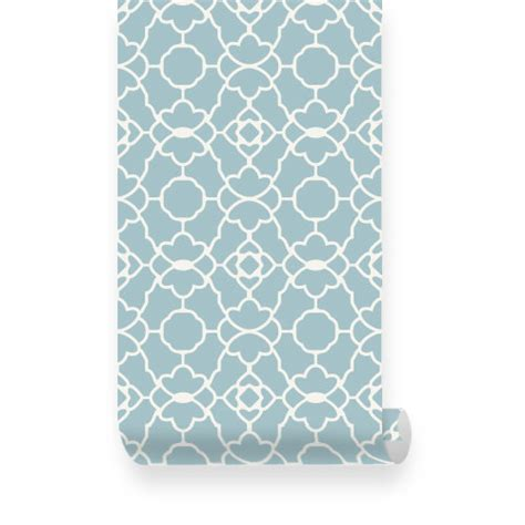 wallpaper blue trellis small trellis pattern dusky blue removable wallpaper peel