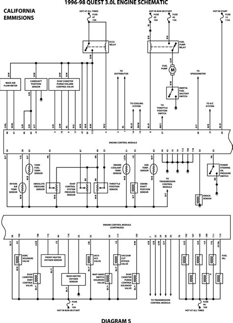 1996 nissan wiring diagram 1996 free engine image