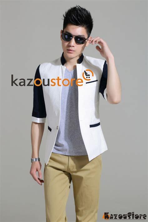 Jas Blazer Pria Blazer Formal Blazer Murah Blazer Korea model baju one ok rock detil produk blazer pria santai njs119 kazoustore