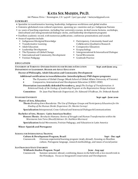 resume ongoing education resume ideas