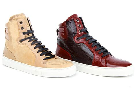 ysl sneaker ysl high top sneakers fall winter 2010 highsnobiety