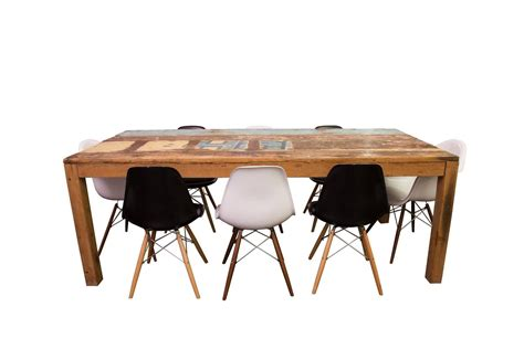 Boat Dining Table And Chairs Reclaimed Fishing Boat Dining Table For Sale At 1stdibs