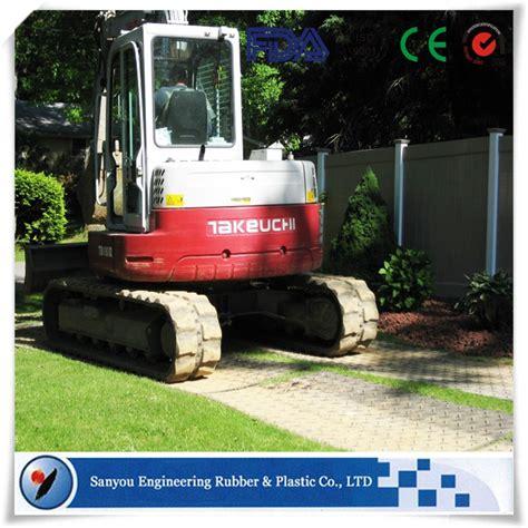 Mud Mats For Heavy Equipment by Engineered Plastic Heavy Equipment Mud Mats Hdpe Crawler
