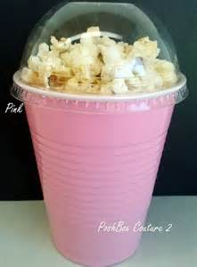 items similar to pink popcorn boxes baby shower ready to