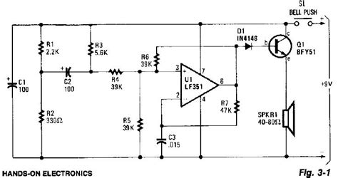 electronic circuits for beginners electronic circuits for beginners door buzzer