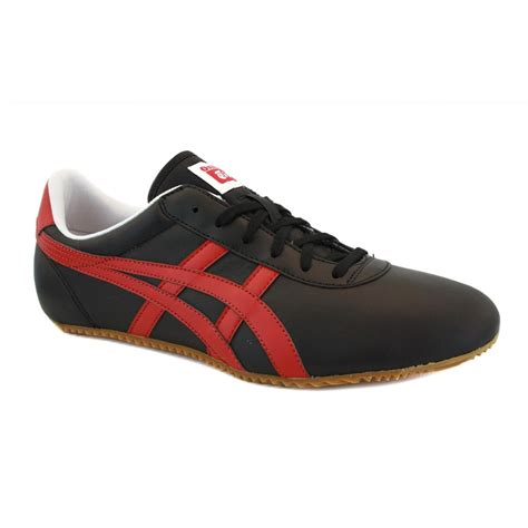 Po Onitsuka Tiger Lawnship Leather onitsuka tiger chi le d301l 9023 mens laced leather trainers black