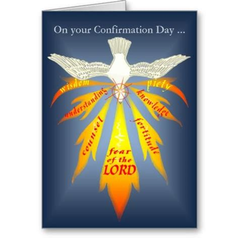 7 fruits of the reception of the eucharist holy spirit confirmation clip confirmation card