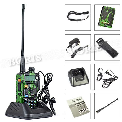 Baofeng Walkie Talkie Dual Band 4w 128ch Uhfvhf Bf Uv 5r 4s Black 1 baofeng uv 5r dual band vhf 136 174mhz uhf 400 480mhz 5w 128ch walkie talkie two way radio
