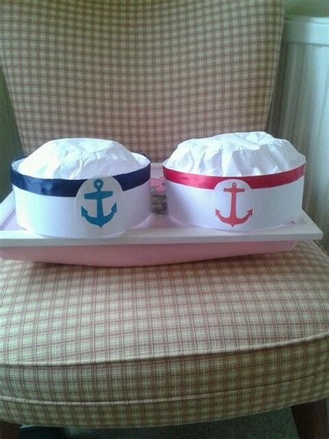 How To Make Paper Sailor Hat - no sew sailor hats made with card coffee filters and