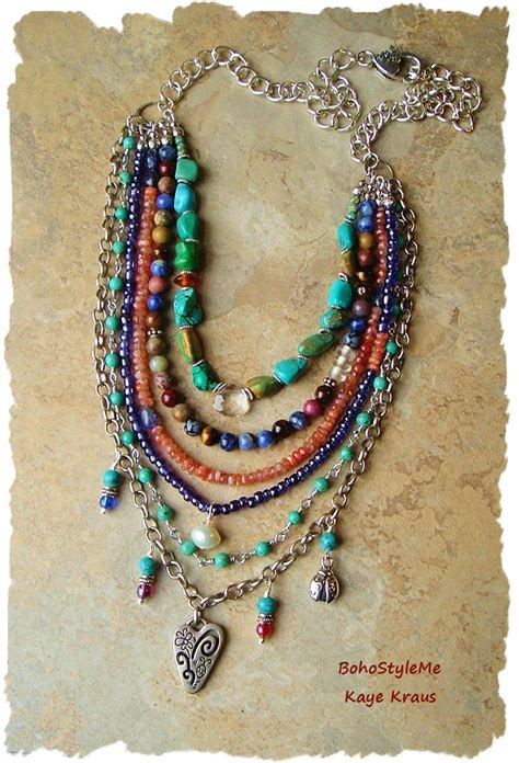 how to make boho jewelry best 20 bohemian jewelry ideas on