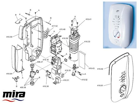 Mira Shower Spare Parts by Mira Sport 1998 2005 10 8kw Shower Spares And Parts