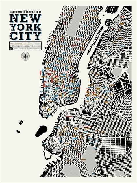 show map of new york pop chart lab distinguished drinkeries business insider