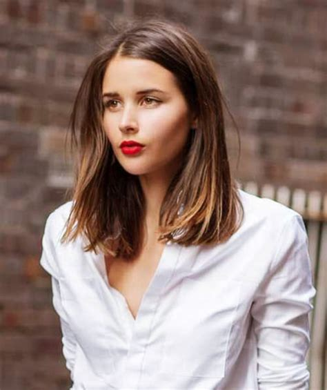 Easy Shoulder Length Hairstyles by 40 Easy Shoulder Length Hairstyles For In 2017